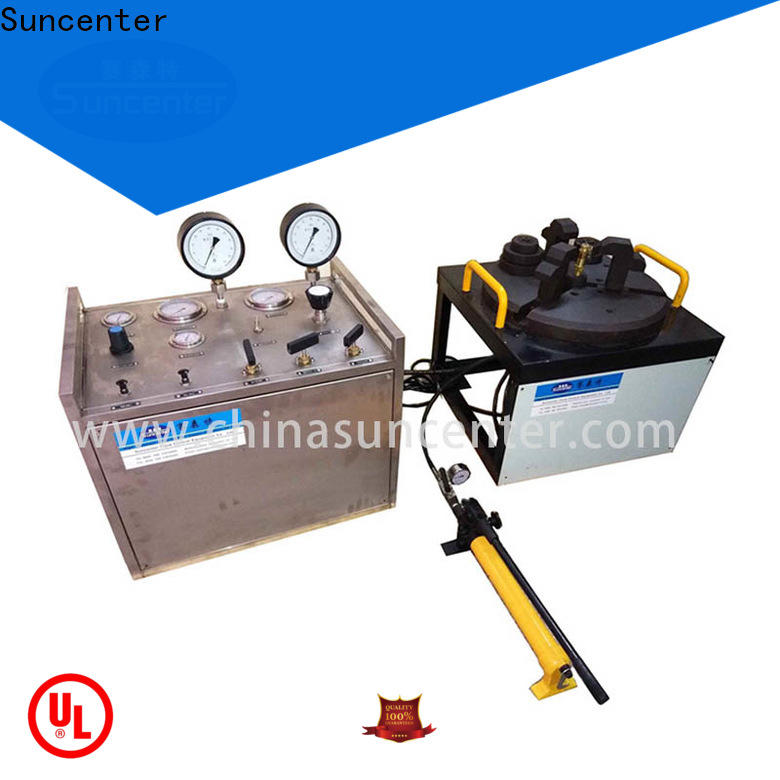Suncenter industry-leading gas pressure test for factory