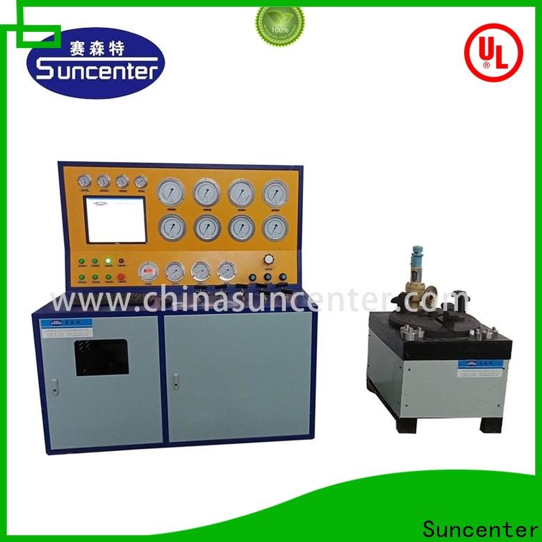 Suncenter model gas pressure test for-sale for factory