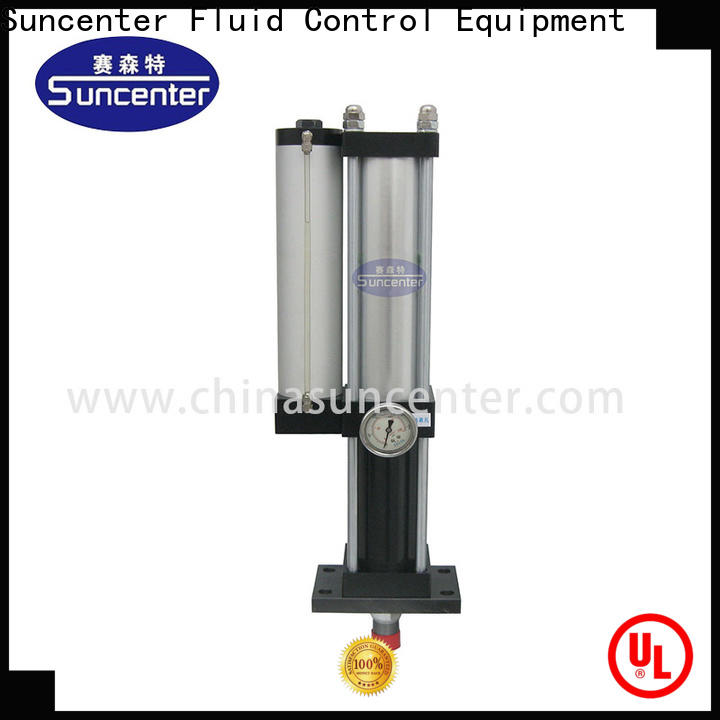 Suncenter stable double acting pneumatic cylinder improvement for electronic machinery