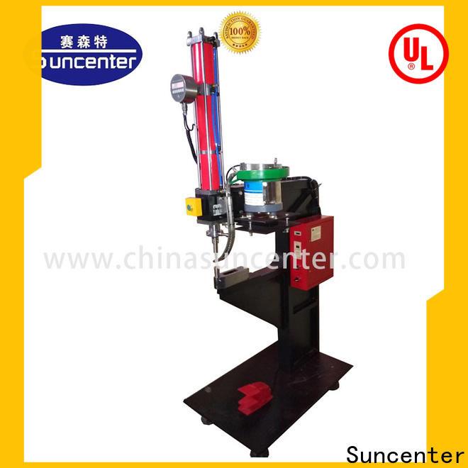 fashion design reviting machine suncenter factory price