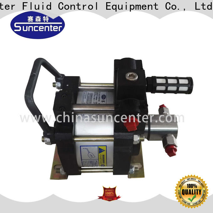 Suncenter widely used pneumatic hydraulic pump in china for mining