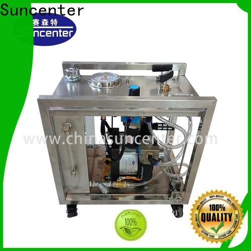 Suncenter round hydro test pump factory price for metallurgy