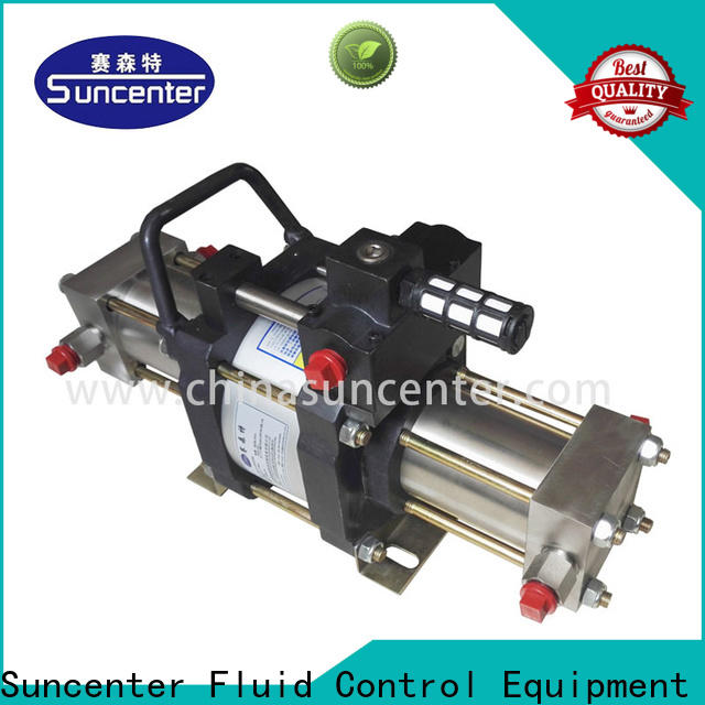 Suncenter high reputation nitrogen air pump from manufacturer for safety valve calibration