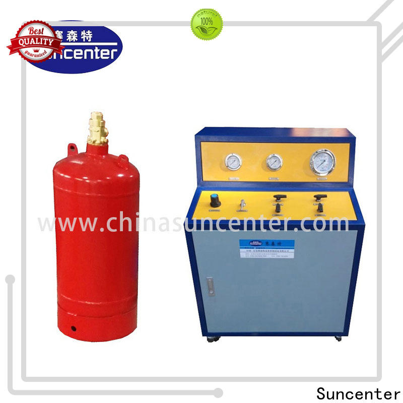 Suncenter cylinder fire extinguisher refill station bulk production for fire extinguisher