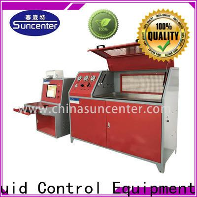 Suncenter high-reputation compression testing machine sensing for pressure test