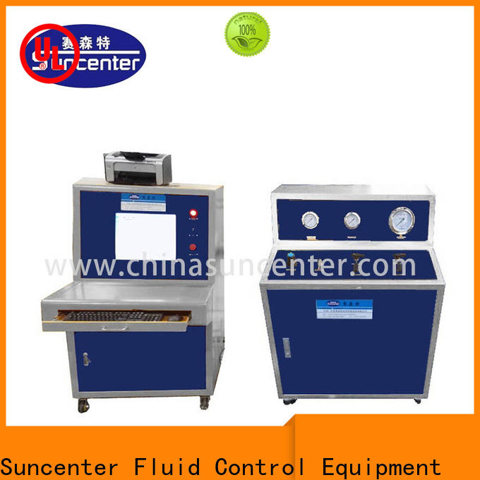 long life pressure test kit machine in China for flat pressure strength test