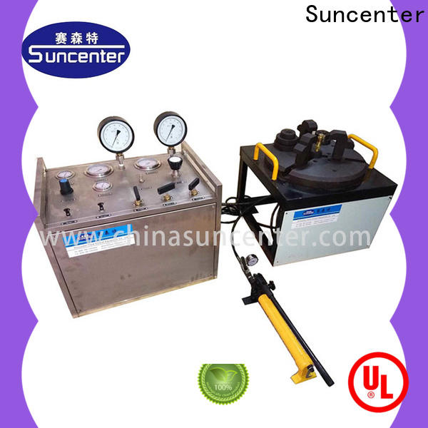 Suncenter control gas pressure test for industry