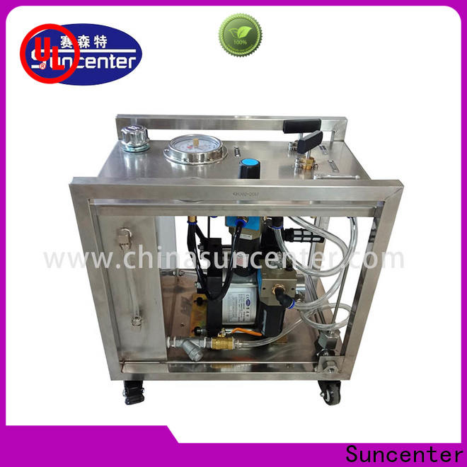 Suncenter competetive price hydrostatic testing marketing for mining