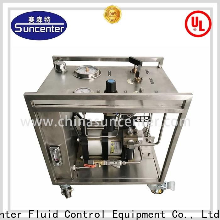 Suncenter field chemical injection pump speed for medical