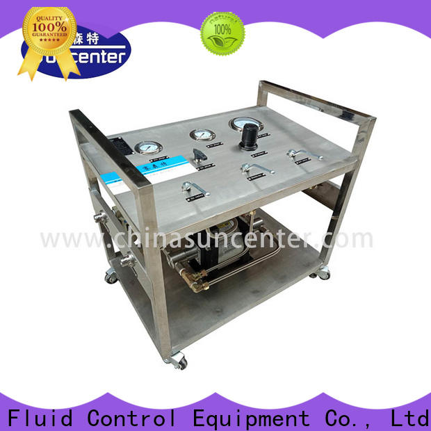 Suncenter booster pump price speed for safety valve calibration