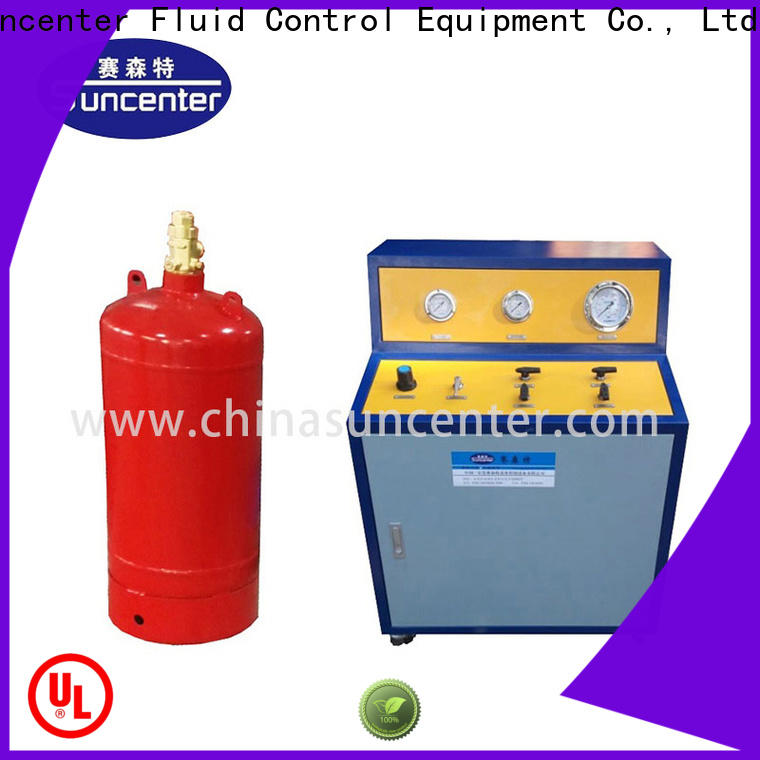 Suncenter automatic fire extinguisher refill station type for fire extinguisher