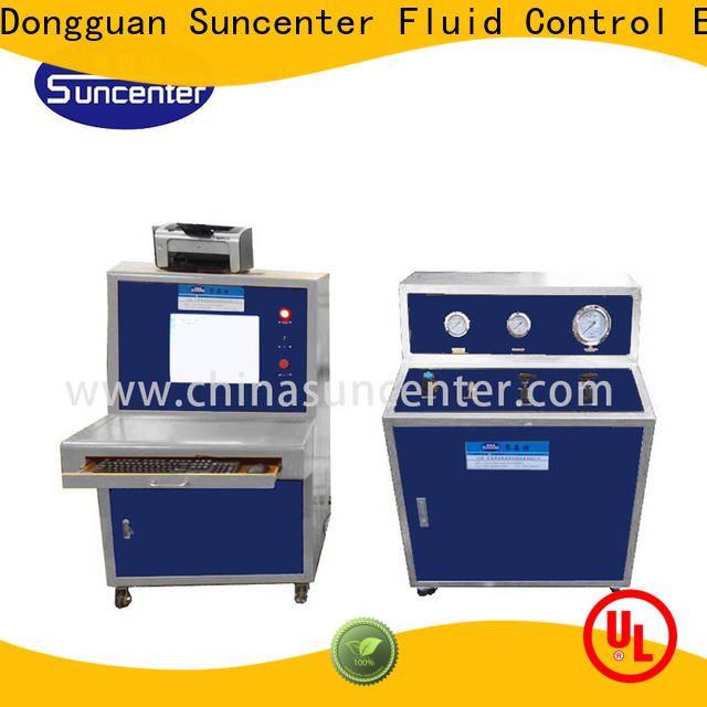 Suncenter professional compression testing machine solutions for flat pressure strength test