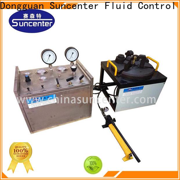 Suncenter energy saving valve test bench free design for industry