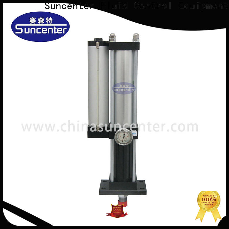 Suncenter rivetless double acting pneumatic cylinder management for construction machinery