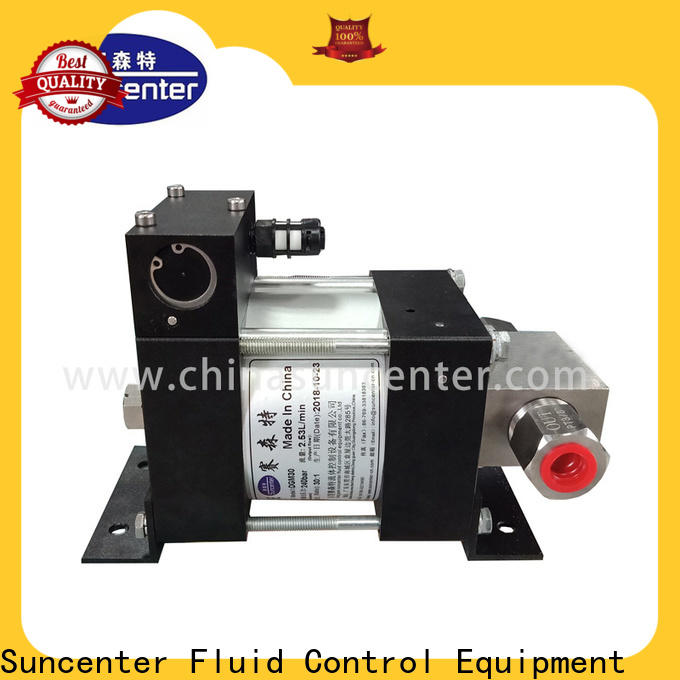 Suncenter stable air driven hydraulic pump in china for machinery