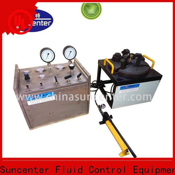 Suncenter valve hydro pressure tester for factory