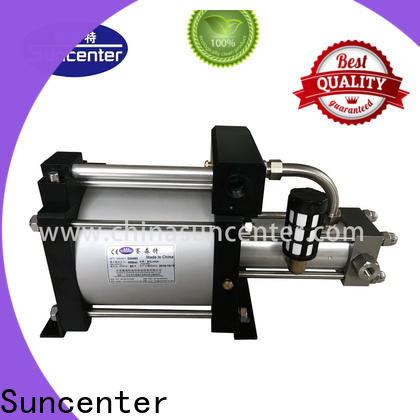 Suncenter stable gas booster marketing for safety valve calibration