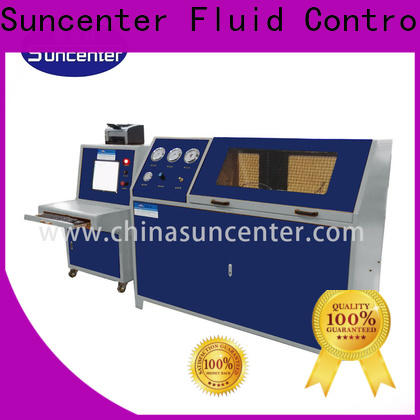 Suncenter test water pressure tester solutions for pressure test