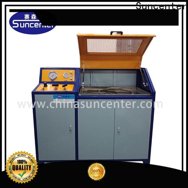 Suncenter impulse compression testing machine application for flat pressure strength test