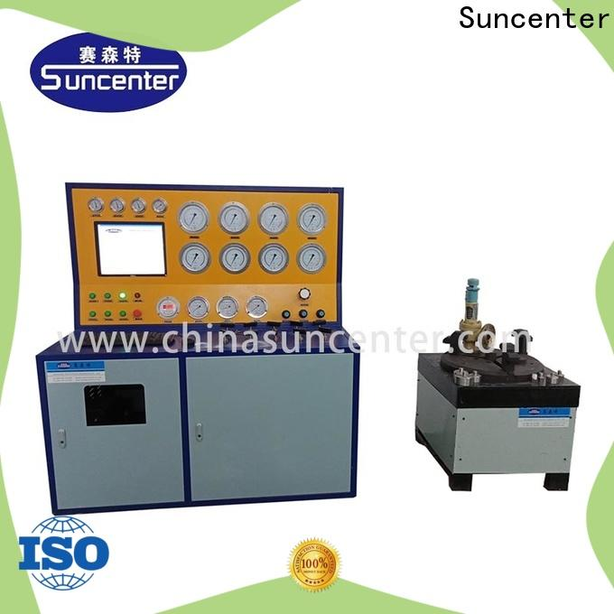 Suncenter environmental hydrostatic pressure test in china for factory