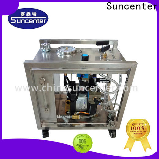 Suncenter pressure hydro test pump overseas market for mining