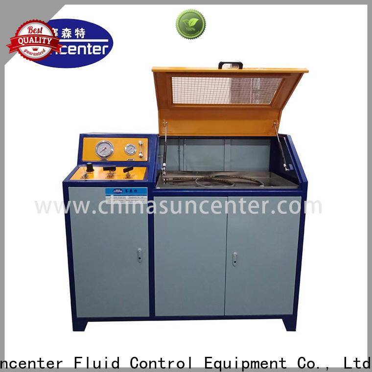 Suncenter long life pressure test sensing for pressure test