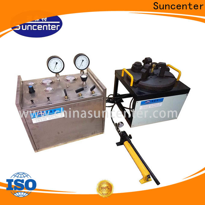 Suncenter valve test bench factory price