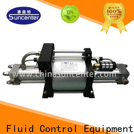 Suncenter model gas booster free design for natural gas boosts pressure