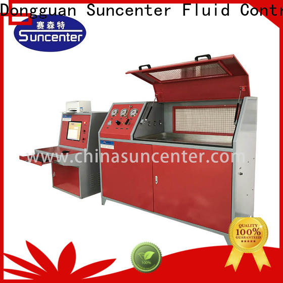 Suncenter pressure compression testing machine application for flat pressure strength test
