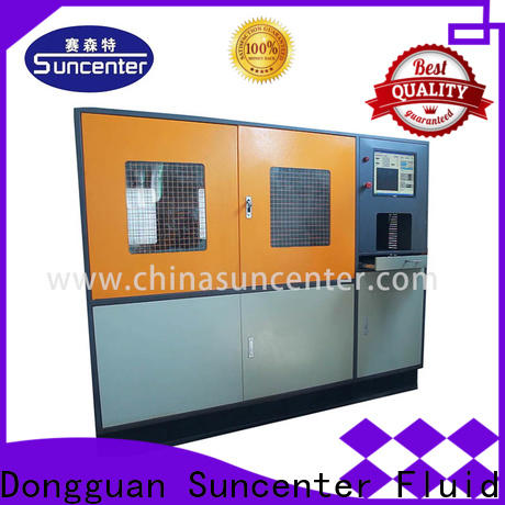 Suncenter air water pressure tester application for flat pressure strength test