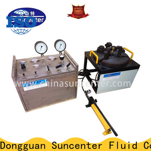 industry-leading hydrostatic pressure test portable bulk production