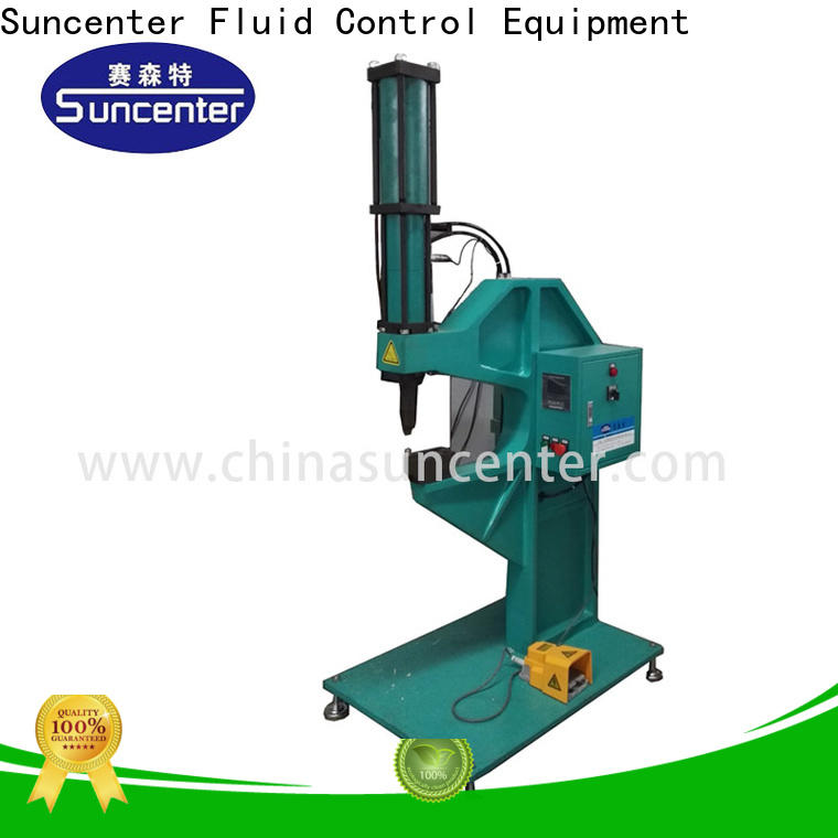 Suncenter machine orbital riveting machine overseas marketing for welding