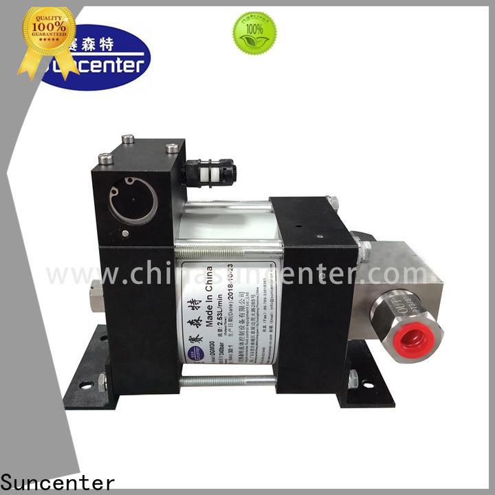 Suncenter durable air hydraulic pump overseas market for metallurgy