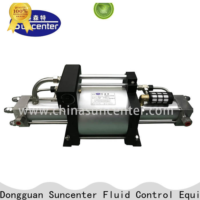 Suncenter stable pump booster factory price for safety valve calibration
