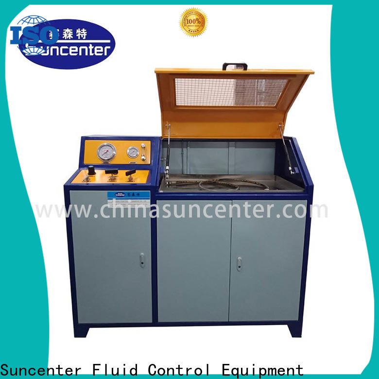 Suncenter professional water pressure tester solutions for pressure test