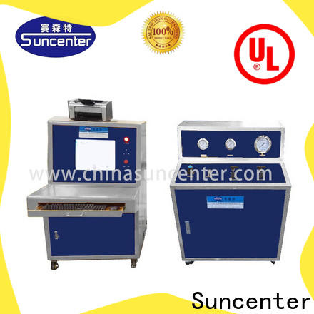 Suncenter test compression testing machine package for flat pressure strength test