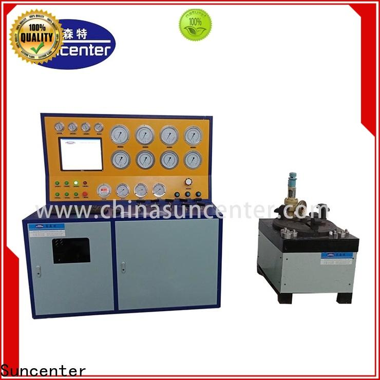 Suncenter industry-leading hydro pressure tester for factory