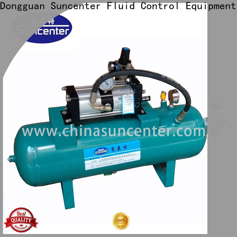 Suncenter max high pressure air pump marketing for safety valve calibration