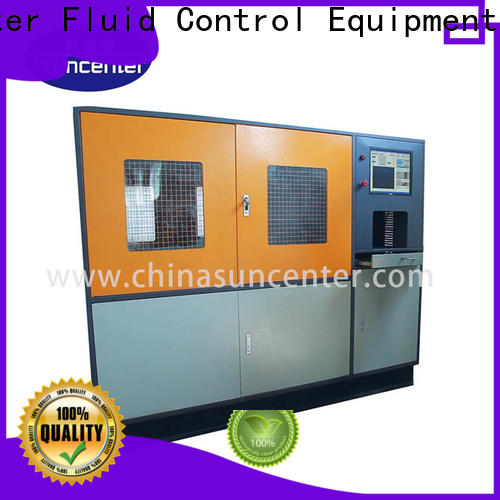 Suncenter easy to use compression testing machine solutions for flat pressure strength test