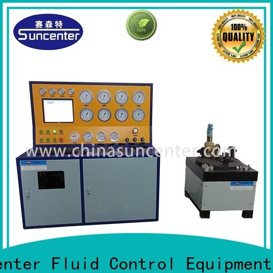 Suncenter safety gas pressure test in china for factory