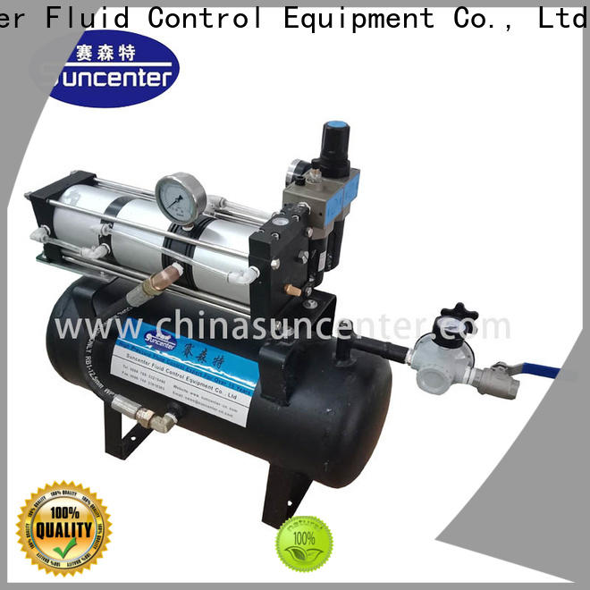 Suncenter durable air pressure booster from china for safety valve calibration