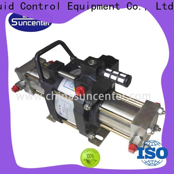 Suncenter pump booster gas marketing for pressurization