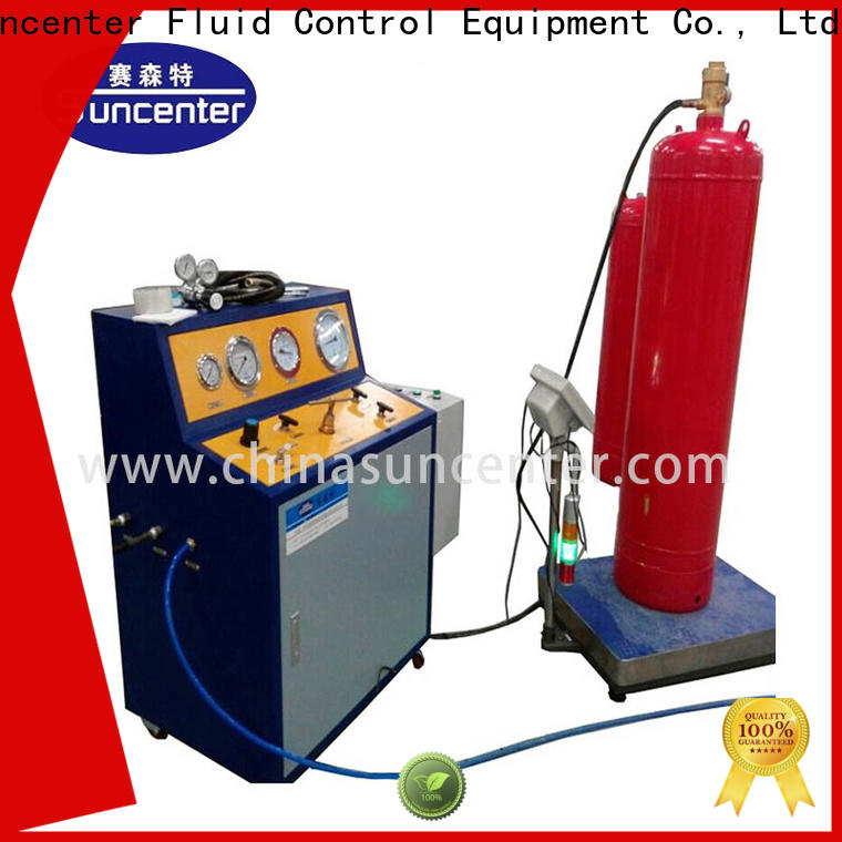 Suncenter industry-leading automatic filling machine for fire extinguisher
