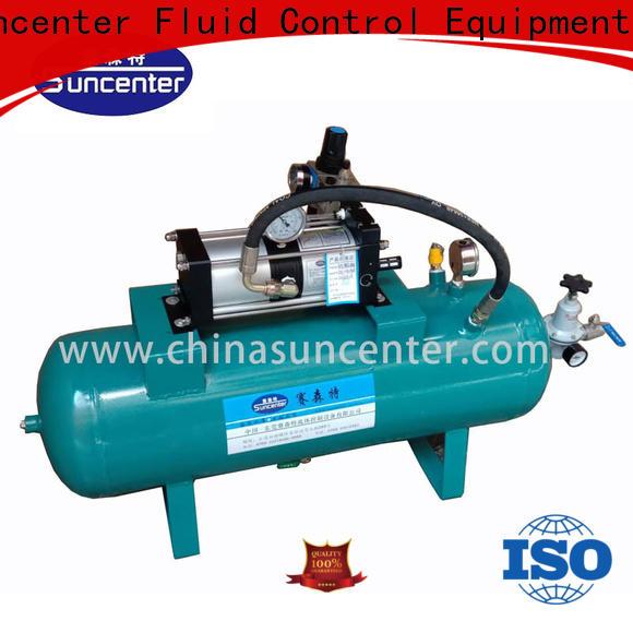 Suncenter air air compressor pump overseas market for safety valve calibration