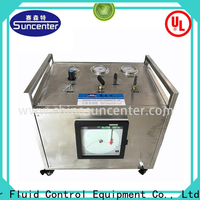 Suncenter test pressure booster pump type for pressurization