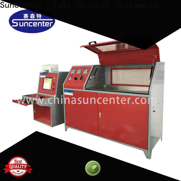 Suncenter leakage compression testing machine package for pressure test