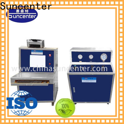 Suncenter machine water pressure tester package for flat pressure strength test