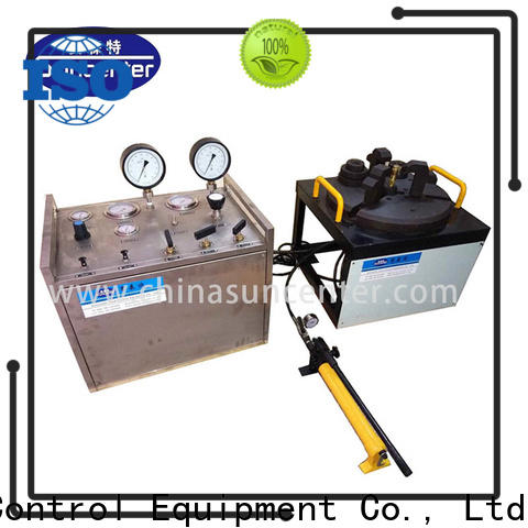 Suncenter safety hydrostatic pressure test for factory