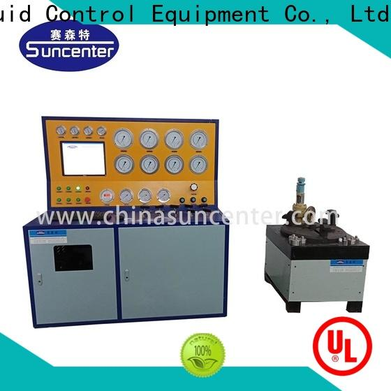 Suncenter energy saving gas pressure test for industry