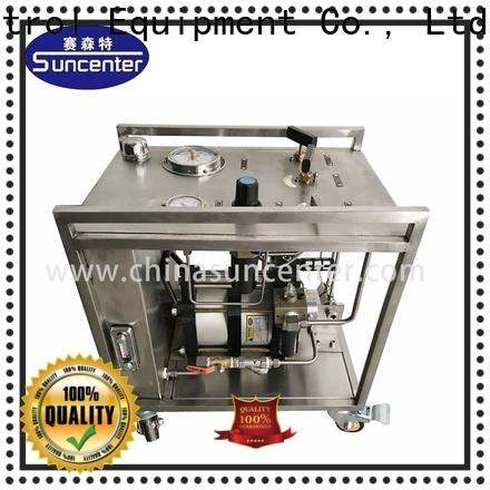Suncenter long life haskel pump testing for medical
